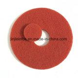 Пусковая площадка пола поставщика фабрики Nylon истирательная красная сухая полируя