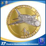 Custom 3D-промо-Gold металлические монеты (ele-C100)