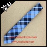 Dry-Clean Only Plaid Pattern 100% Jacquard de seda tejida Tie