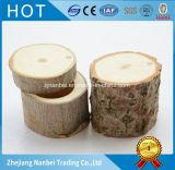 Cadre en bois de boucle d'arbre rugueux normal fait sur commande de logo