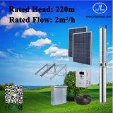 sistema di pompaggio sommergibile 3.0kw, pozzo trivellato bene, sistema di pompaggio solare