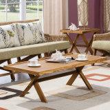 Caffè del rattan della mobilia/Tabella di tè pranzanti dell'interno esterni per il giardino, patio, hotel, ristorante B02-4