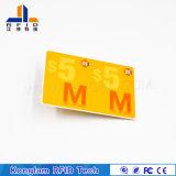 Personalizar diversos Inteligente chip RFID Tarjeta de papel para entradas de futbol