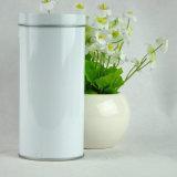 Il tè vuoto rotondo del commestibile può inscatolare il contenitore chiuso ermeticamente della casella