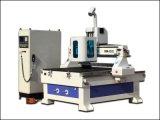 Kleiner CNC-Fräser-Gravierfräsmaschine-Ausschnitt hölzerne Kurbelgehäuse-Belüftung Doppelt-Farbe Vorstand-Maschine
