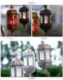 Sostenedor de vela del metal de la vendimia del oro para el hogar