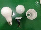 Lumière d'ampoule en gros de l'usine 7W9w12W A60 A19 DEL