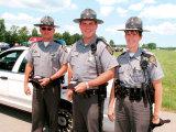 T/C personnalisé garde de sécurité chemise uniforme