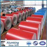 In reliëf gemaakt en de Kleur Met een laag bedekte ASTM A792 Rol van het Aluminium