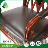 居間(ZSC-84)のためのThrone Chair優雅な様式のブナ王