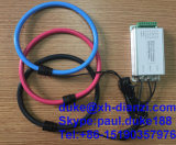 Sonda corrente flessibile di CA del sensore corrente a tre fasi della corda