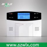 Sistema de alarma casera del menú PSTN+GSM de la palabra con la alarma G/M del APP