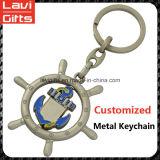Veicolo per il trasporto del metallo su ordinazione di vendita superiore Keychain a forma di