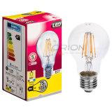 De LEIDENE van Edison Bulb LED 4W E27 A60 Gloeidraad van de Bol