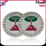 Venda a granel Escolha Assorted Bandeira Shape Golf Ball Marker