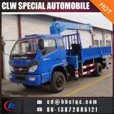 Caminhão de China Forland 4mt com o guindaste do braço telescópico