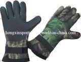 Перчатки неопрена для рыболовства и звероловства (HX-G0060)