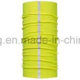 Kundenspezifisches Multifunktions-Polyesterreflektierender nahtloser Bandana mit Drucken-Firmenzeichen