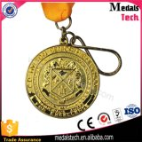 Medaglia di oro su ordine all'ingrosso di originalità del medaglione