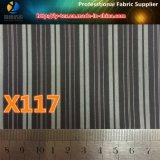 Проворная ткань нашивки Twill полиэфира товаров для подкладки костюма людей (X115-117)