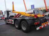El brazo de gancho de leva resistente de Sinotruk 6X4 30t cae el carro de basura