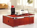 Meubles de bureau modernes exécutifs de bureau de placage en bois solide (NS-SL041)
