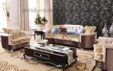 Sofá de clase superior de la tela con precio barato