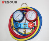 Las mangueras de refrigeración con válvula de bola, la carga de las mangueras, R410/R12/R22/R502/R134