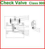 300lb de van een flens voorzien Klep van de Controle van de Schommeling van het Eind (GAH44H)