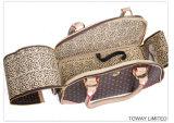 تصميم كلاسيكيّة كلب حقيبة يد شبكة [بو] نوعية جلد محبوب شركة نقل جويّ