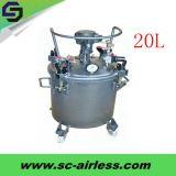 熱い販売OEM 60L圧力ペンキタンク自動タイプ