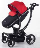 RAHMEN-Baby-Spaziergänger des neuen Entwurfs-2017 Aluminiummit Auto-Sitz