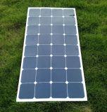 Sunpower original 100W painel solar flexível que o carregamento da bateria de 12V