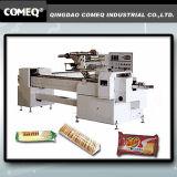 Máquina de embalagem automática do fluxo do sanduíche