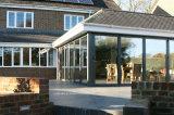 5.5 Portes Bifold de patio externe de longueur de mètres pour le balcon extérieur