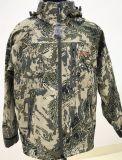 Camuflaje chaqueta impermeable personalizado de caza