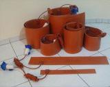 Riscaldatore elettrico della gomma di silicone di alta qualità di vendite dirette della fabbrica con la termocoppia