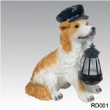 Солнечный светильник собаки, солнечный светильник Craftwork (RD001)
