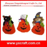 Halloween Pumpkin Cat Ghost Decoration