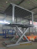 Hydraulisches Auto-steigender Plattform-Auto-Aufzug mit doppelter Plattform