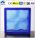 Высокое качество Jinghua Облачно цвет сапфира 190X190X80мм стекло из кирпича/блока цилиндров