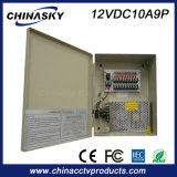 12V 10A Ce / IEC goedgekeurd CCTV Power Supply (12VDC10A9P)
