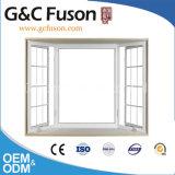 Het Openslaand raam van het aluminium combineert met Vaste Verglazing