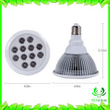 Hot Sale lumière LED 12W croître ce/RoHS pour l'Intérieur à spectre complet des plantes de légumes et fleurs