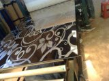 304 316 L tôle gravée en relief repérée d'acier inoxydable
