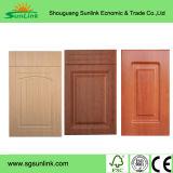 portello UV dell'armadio da cucina del MDF del grano di legno materiale 2017new (ZH-6043)