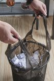Polyetheneの黒い星によって密封されるごみ袋または大箱はさみ金かごみ袋