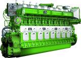 Двигатель дизеля морского пехотинца хода 1471kw-2206kw Avespeed Ga8300 низкоскоростной надежный