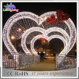 Indicatori luminosi impermeabili dell'arco della decorazione di amore di natale di festa LED