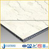 Панель сота высокого качества мраморный алюминиевая для плакирования стены